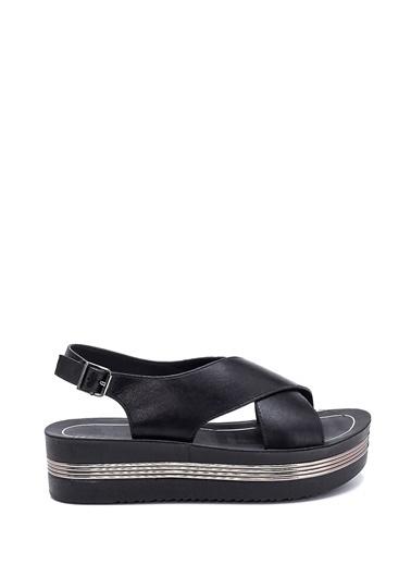 Derimod Kadın Casual Sandalet Siyah